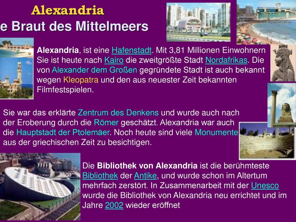 Alexandria Die Braut des Mittelmeers