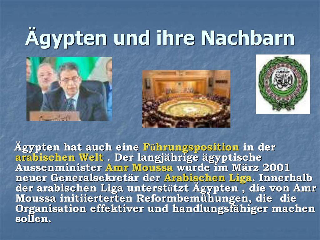 Ägypten und ihre Nachbarn