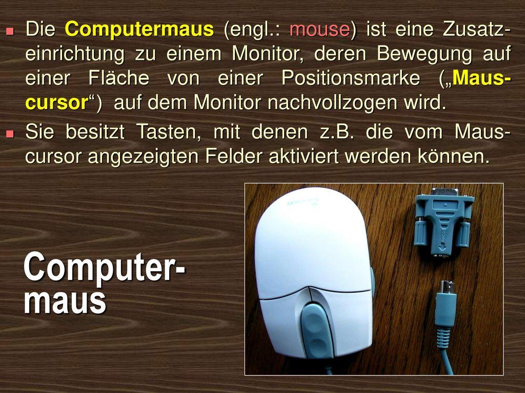 Die Computermaus (engl