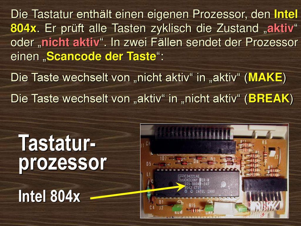 Tastatur- prozessor Intel 804x