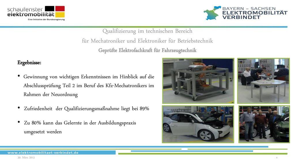 Geprüfte Elektrofachkraft für Fahrzeugtechnik