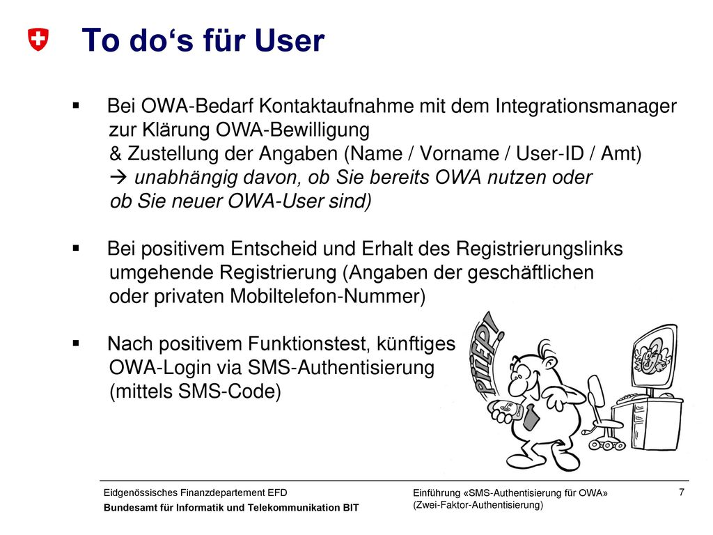 To do's für User