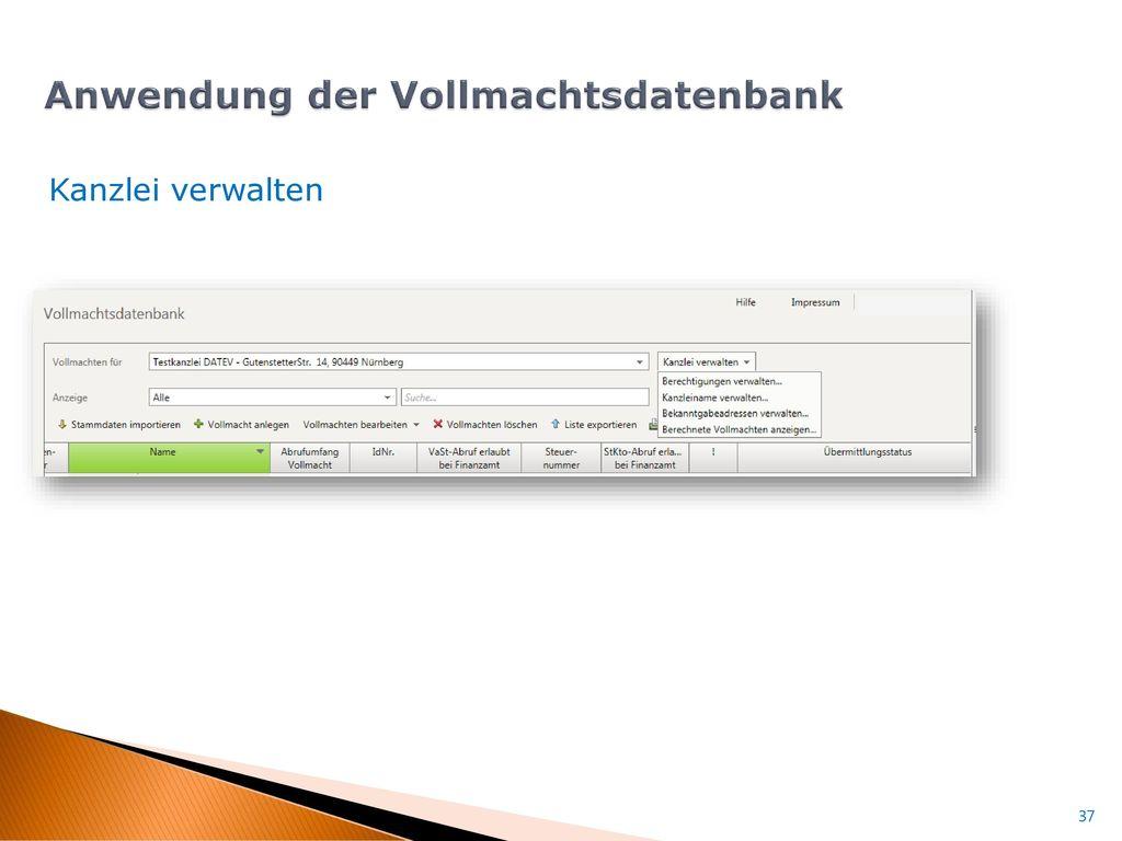 Datei in VDB importieren