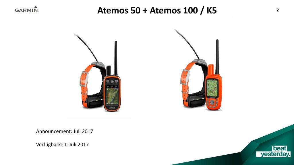 Atemos 50 + Atemos 100 / K5 Announcement: Juli 2017