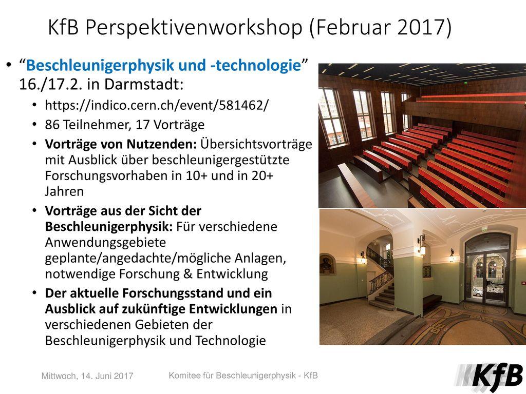 KfB Perspektivenworkshop (Februar 2017)