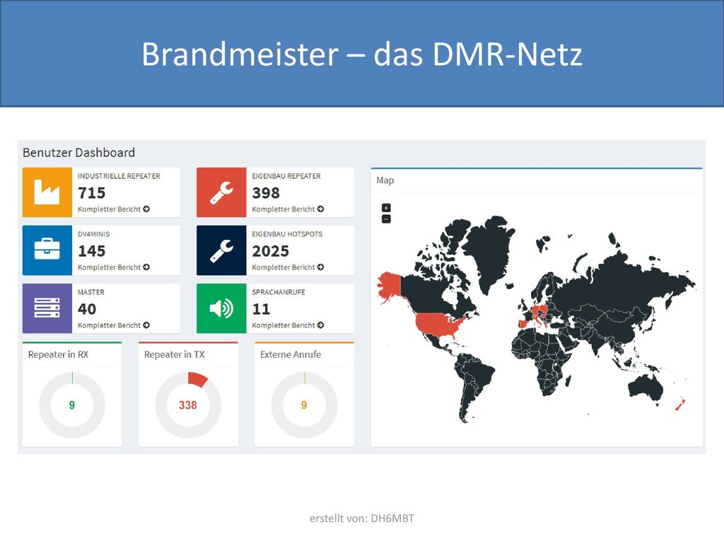 Brandmeister – das DMR-Netz