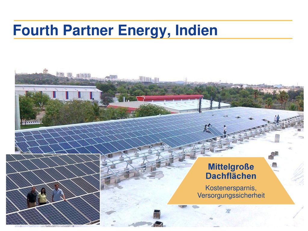 Fourth Partner Energy, Indien