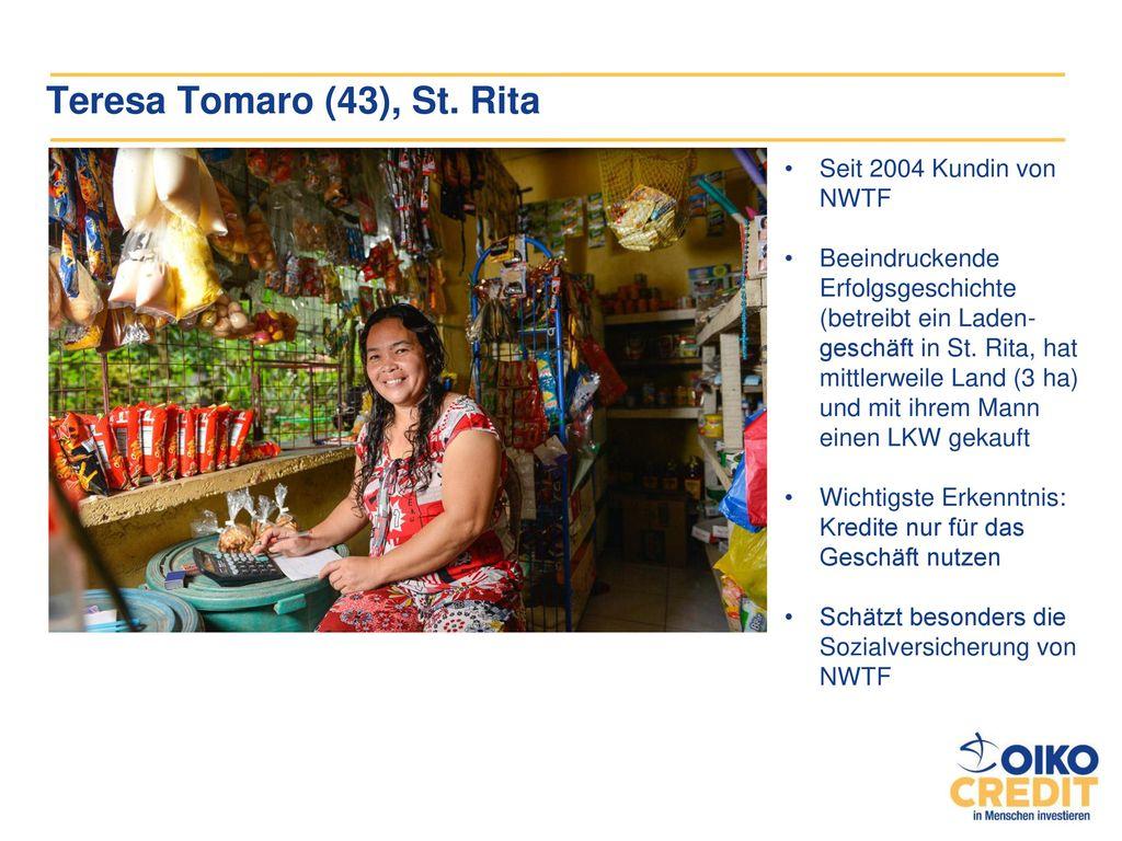 Teresa Tomaro (43), St. Rita