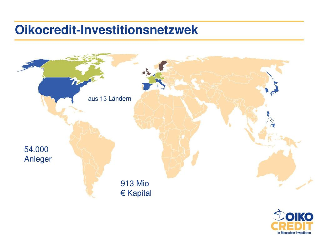 Oikocredit-Investitionsnetzwek