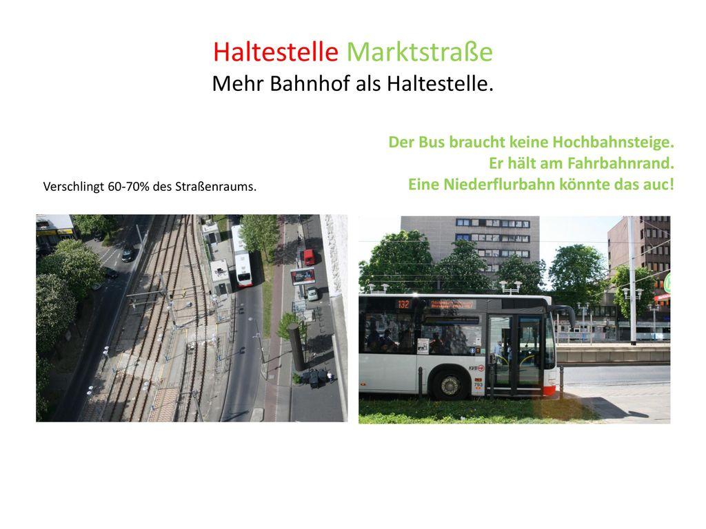 Haltestelle Marktstraße
