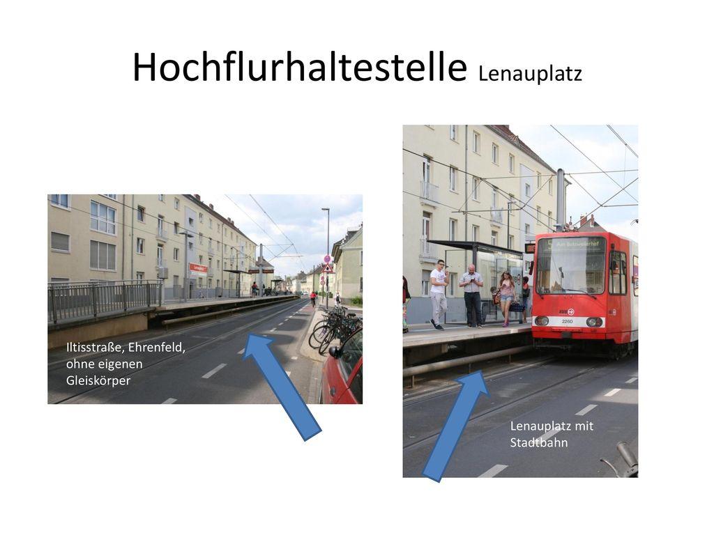 Hochflurhaltestelle Lenauplatz