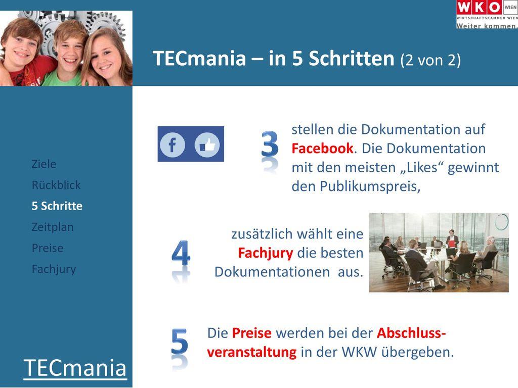 TECmania – in 5 Schritten (2 von 2)