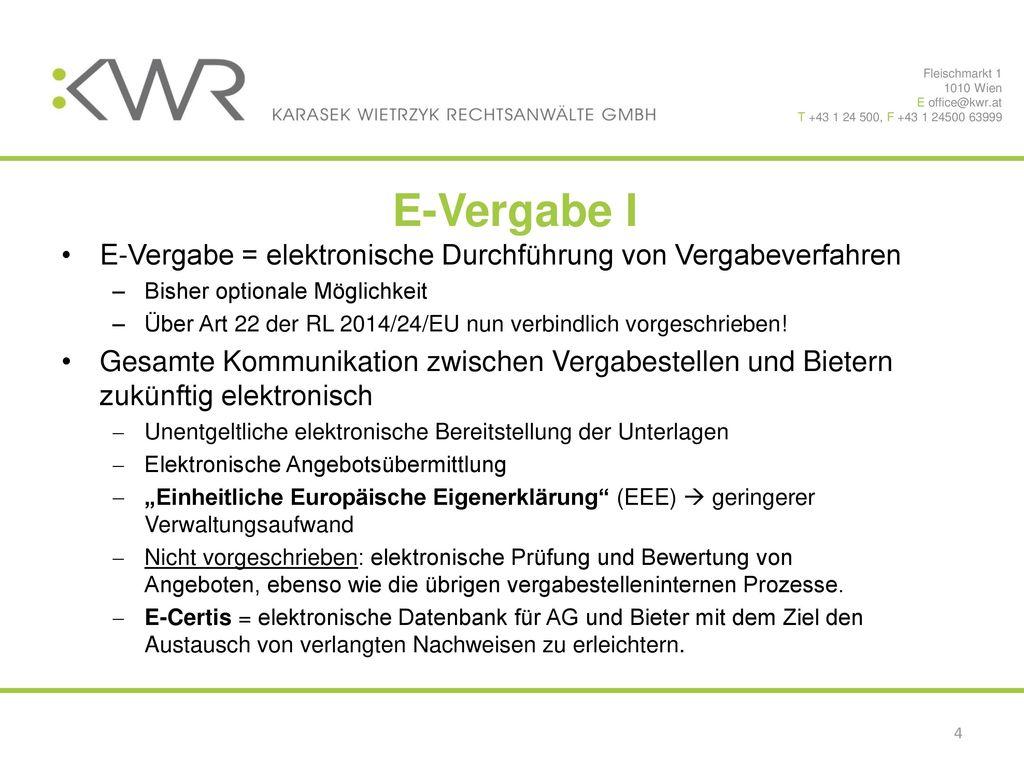 Fleischmarkt 1 1010 Wien. E office@kwr.at. T +43 1 24 500, F +43 1 24500 63999. E-Vergabe I.