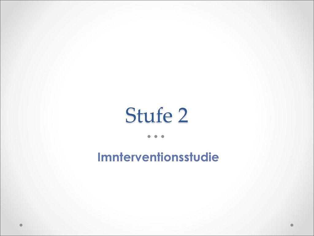 Imnterventionsstudie