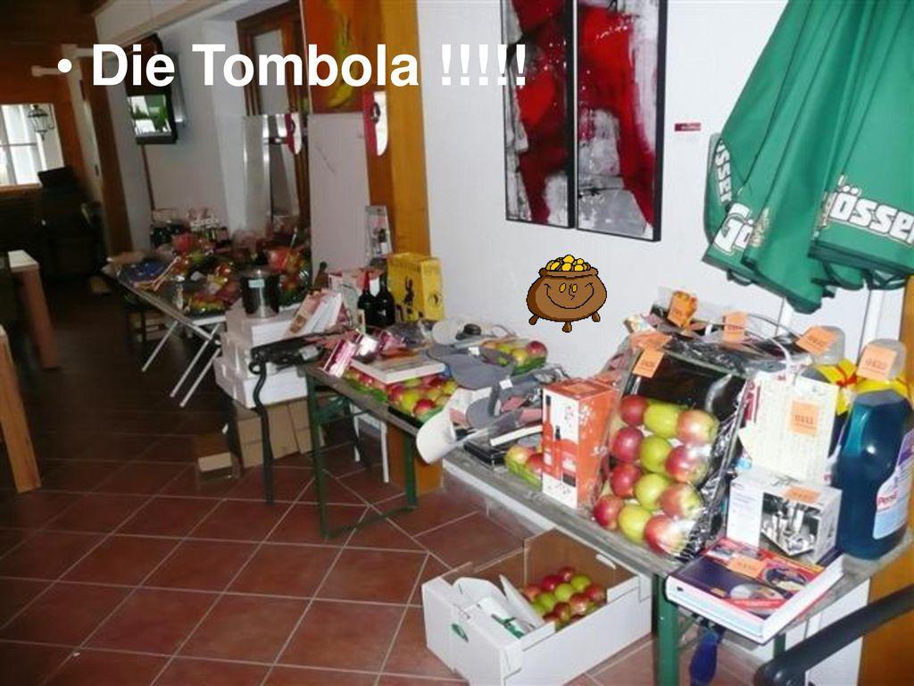 Die Tombola !!!!!