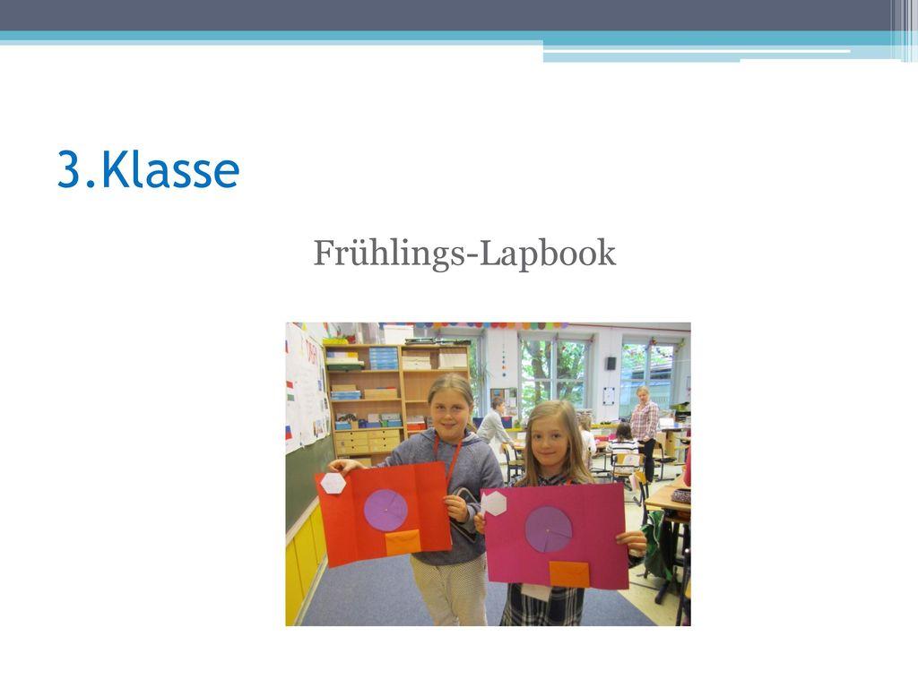 3.Klasse Frühlings-Lapbook