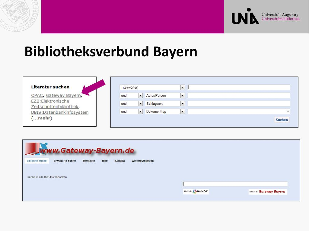 Bibliotheksverbund Bayern