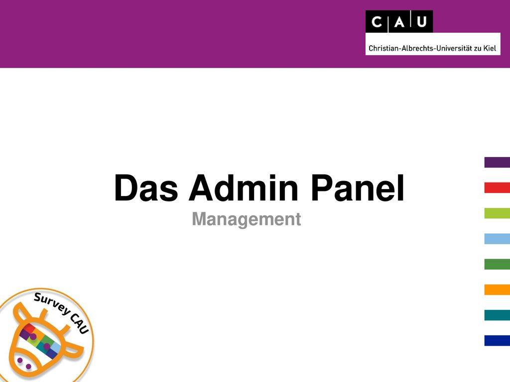 Das Admin Panel Management