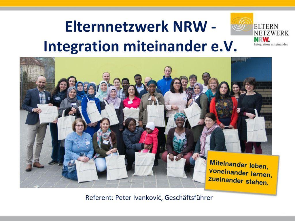 Elternnetzwerk NRW - Integration miteinander e.V.