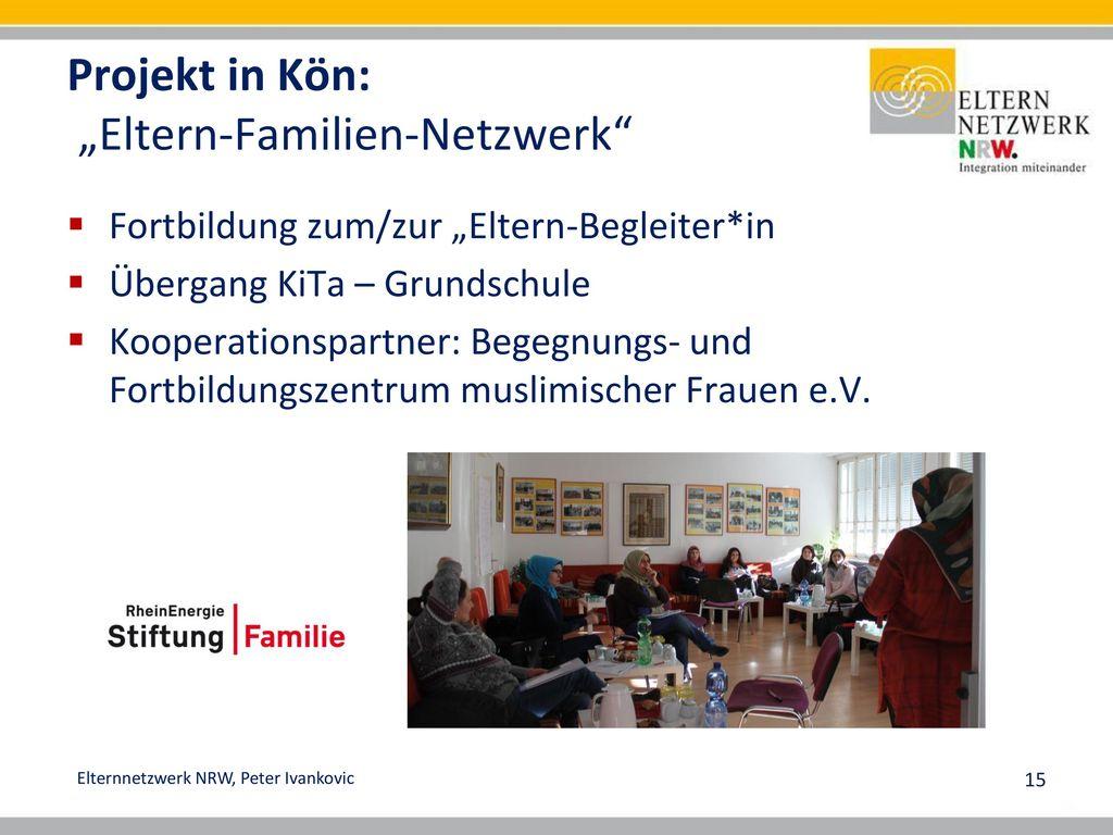 """Projekt in Kön: """"Eltern-Familien-Netzwerk"""