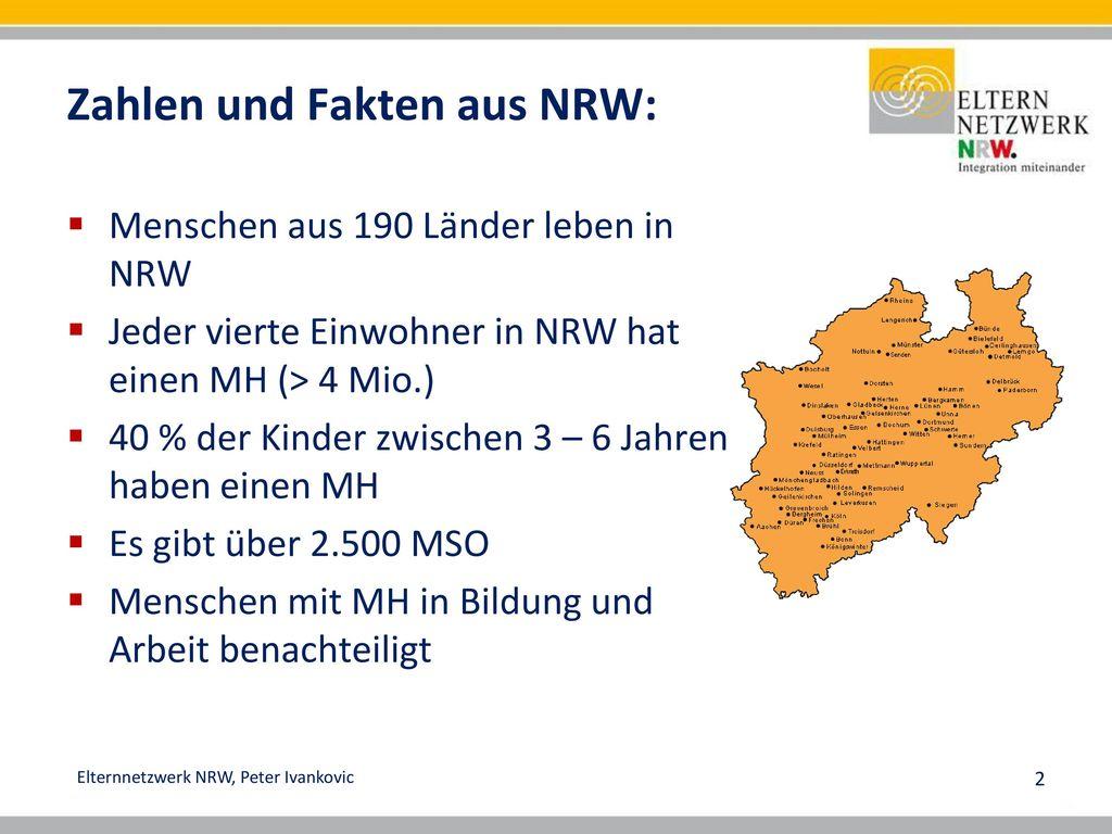 Zahlen und Fakten aus NRW: