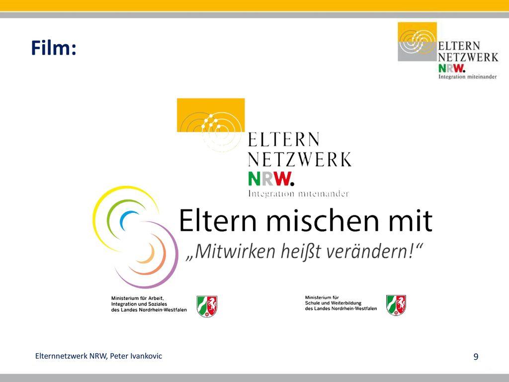 """Film: Modellorte: Dortmund – Duisburg – Bergisches Land (Wuppertal) →Regionale Partner (MSO) 2017 Fortbildung zum """"Elternmoderator :"""