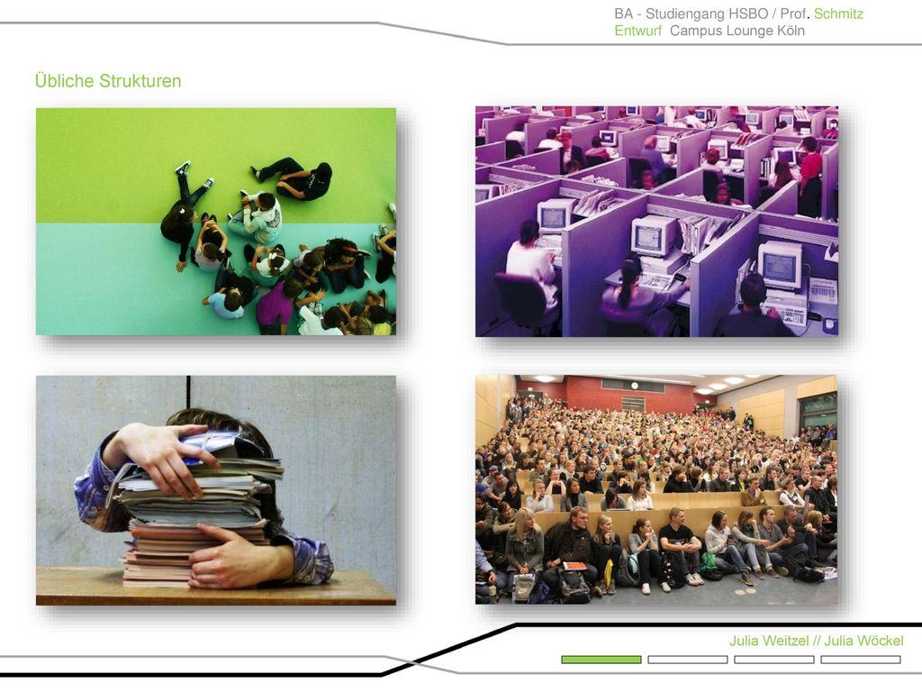 Übliche Strukturen BA - Studiengang HSBO / Prof. Schmitz