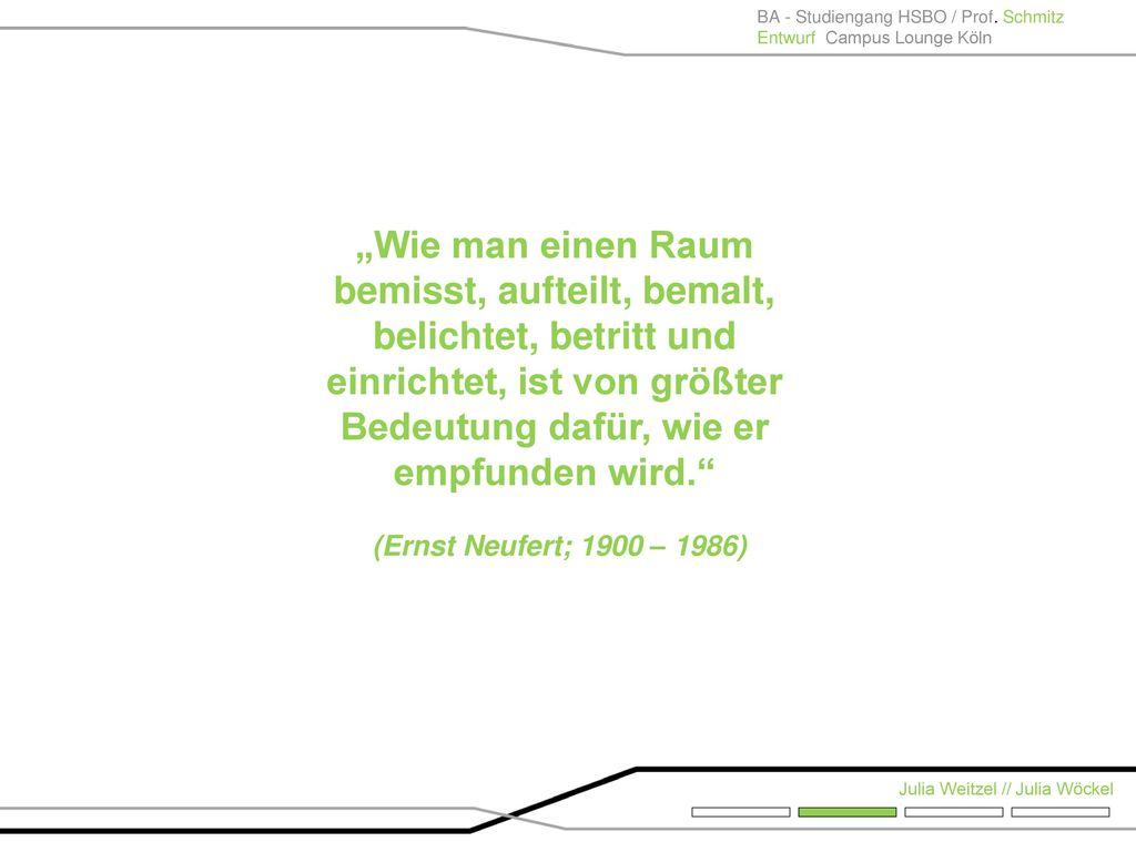 BA - Studiengang HSBO / Prof. Schmitz
