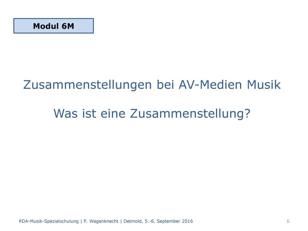 Zusammenstellungen bei AV-Medien Musik Was ist eine Zusammenstellung