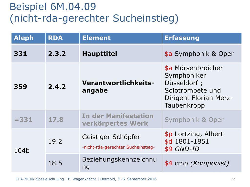 Beispiel 6M.04.09 (nicht-rda-gerechter Sucheinstieg)