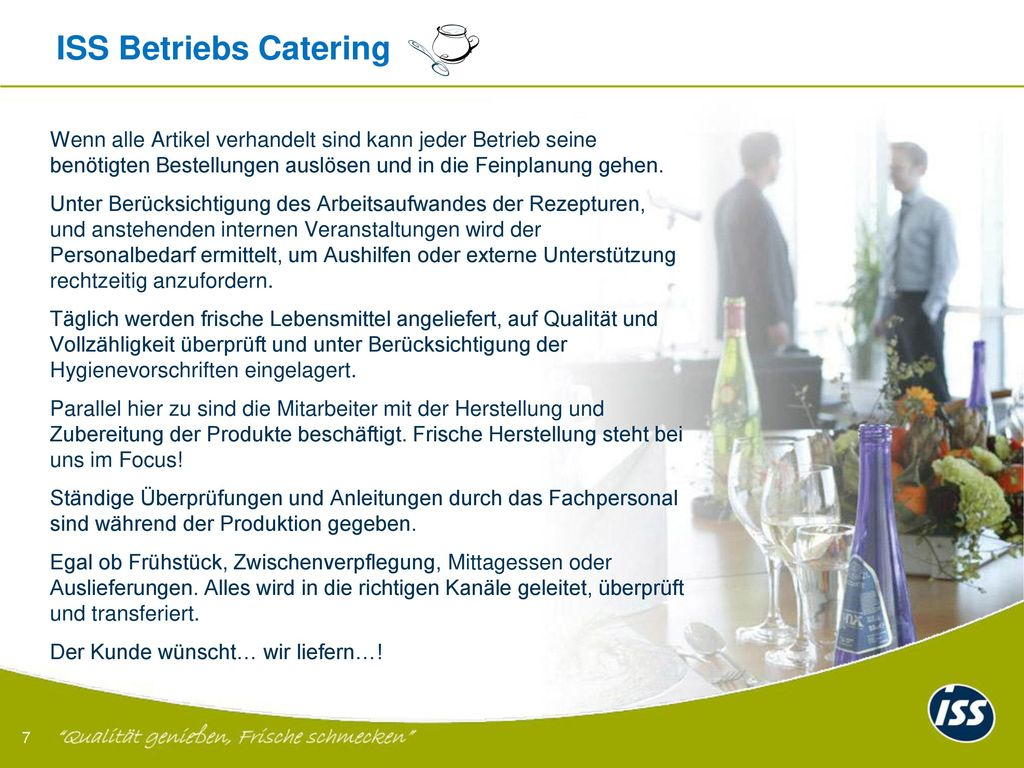 ISS Betriebs Catering -
