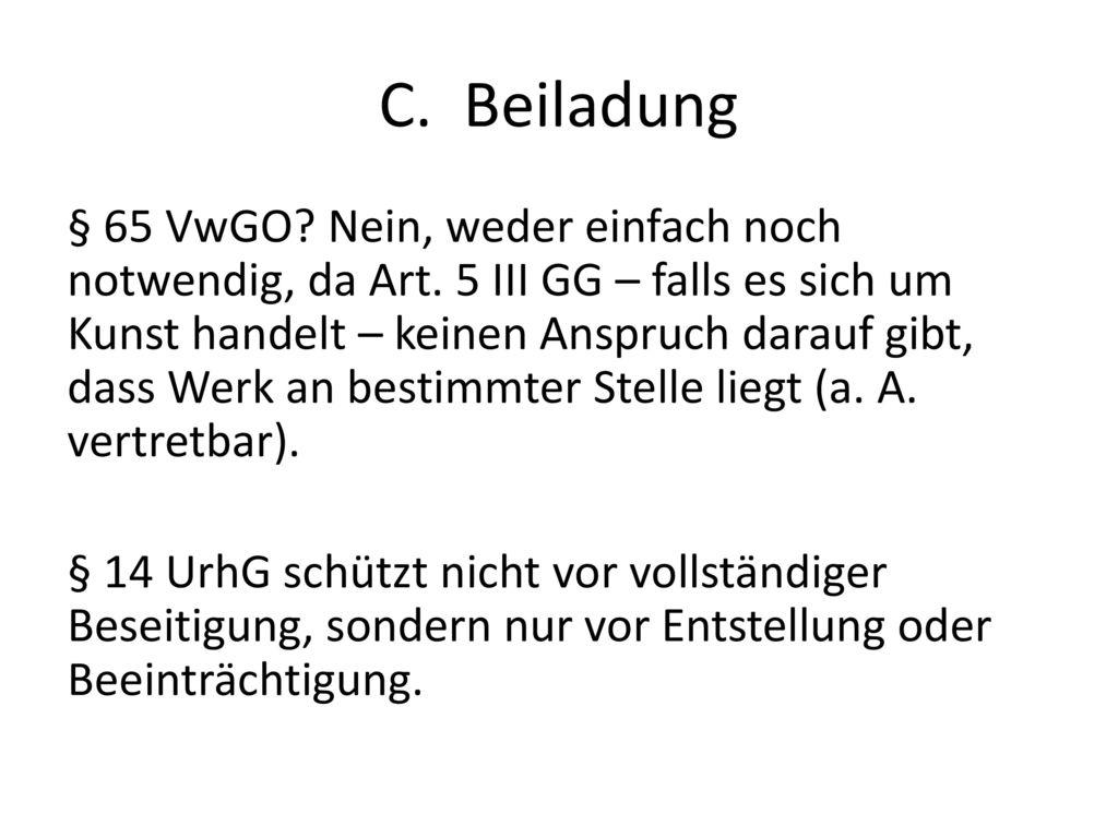 C. Beiladung