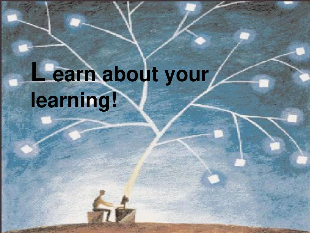 L earn about your learning!