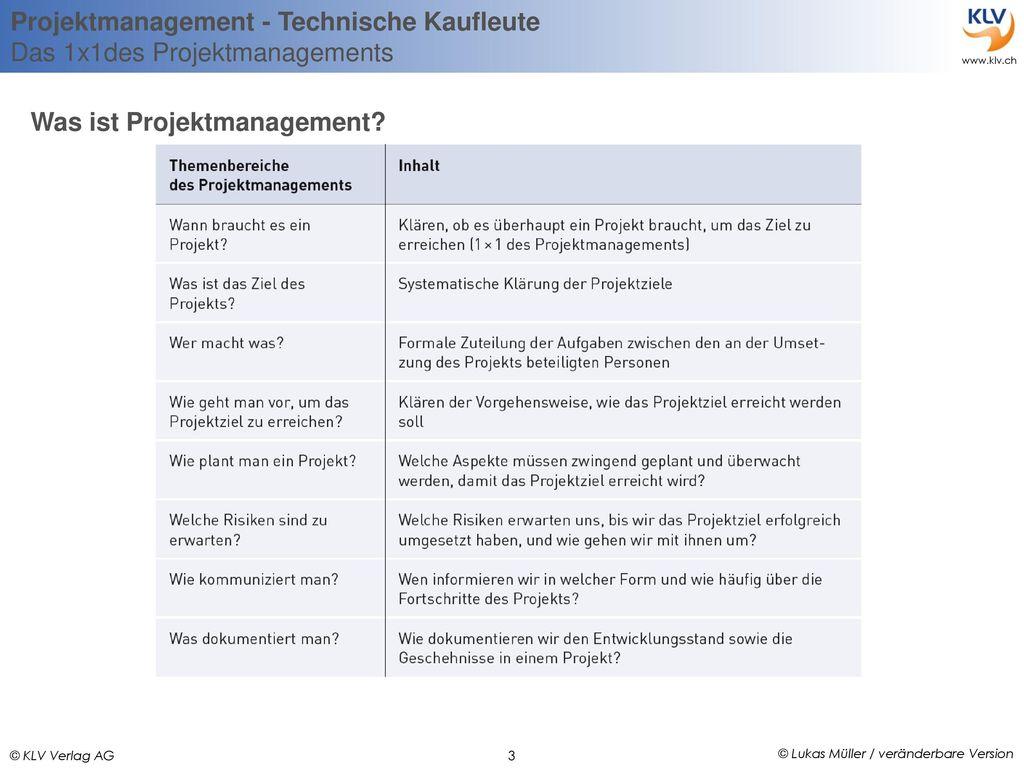 Was ist Projektmanagement
