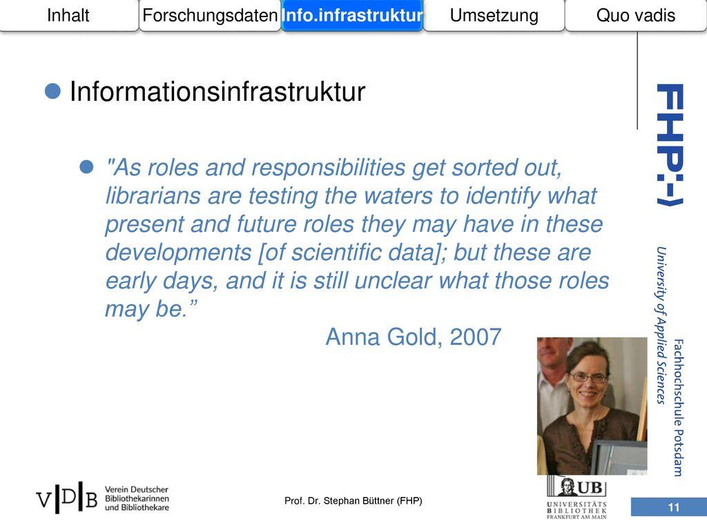 Informationsinfrastruktur