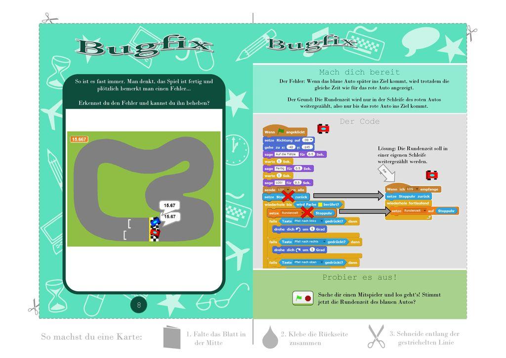 Bugfix Bugfix Mach dich bereit Der Code Probier es aus!