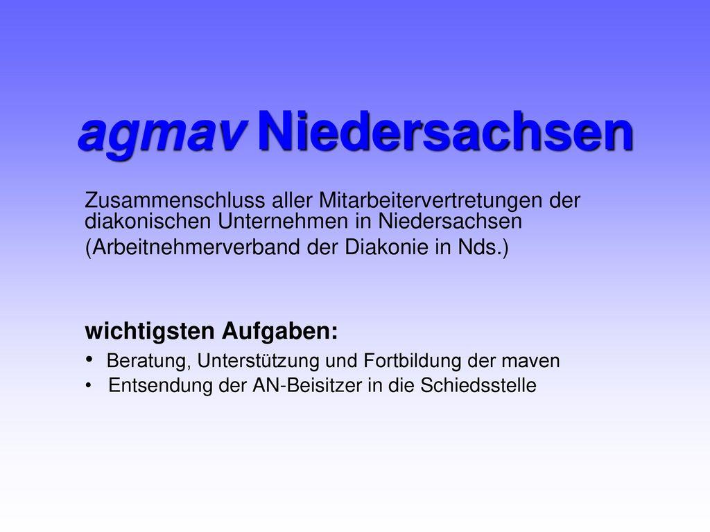 agmav Niedersachsen wichtigsten Aufgaben: