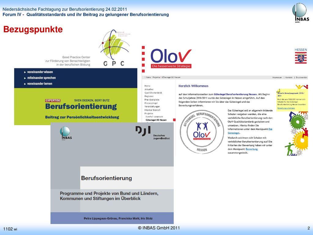 Bezugspunkte 1102 wi © INBAS GmbH 2011