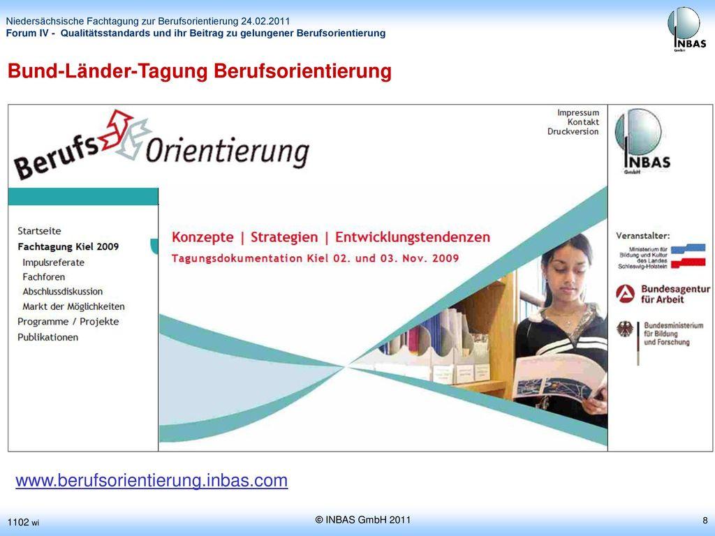 Bund-Länder-Tagung Berufsorientierung