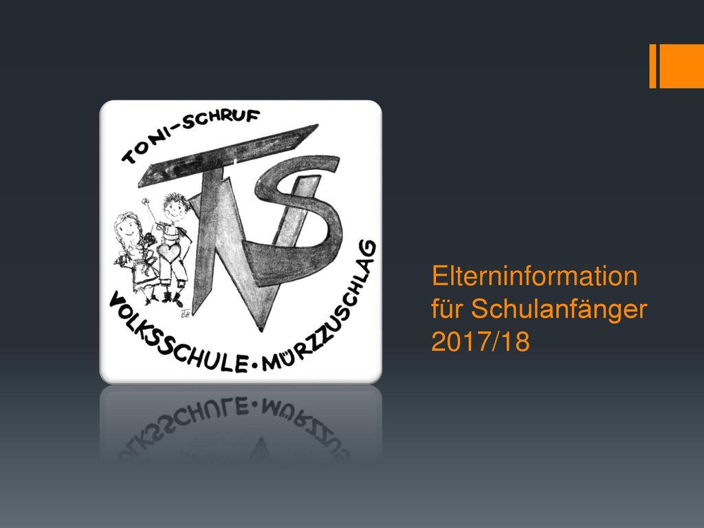 Elterninformation für Schulanfänger 2017/18