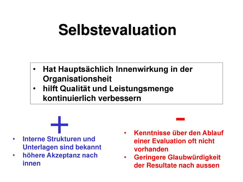Evaluation und New Public Management
