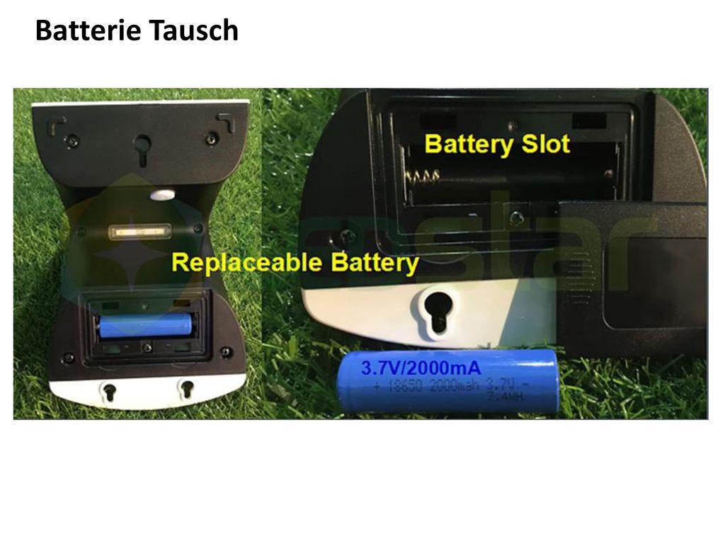 Batterie Tausch