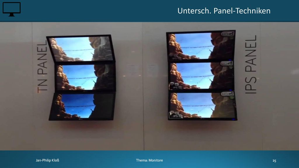 Untersch. Panel-Techniken