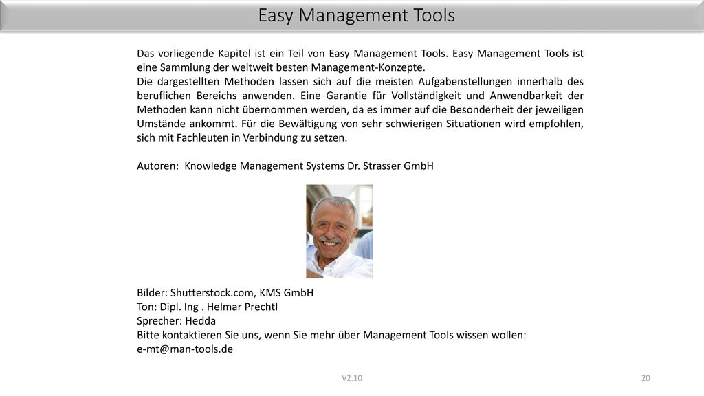 Easy Management Tools