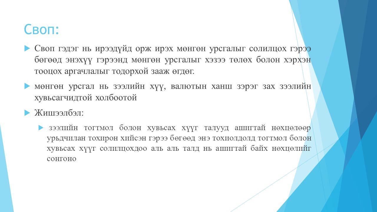 Своп: