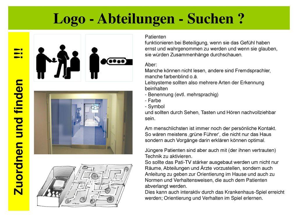 Logo - Abteilungen - Suchen