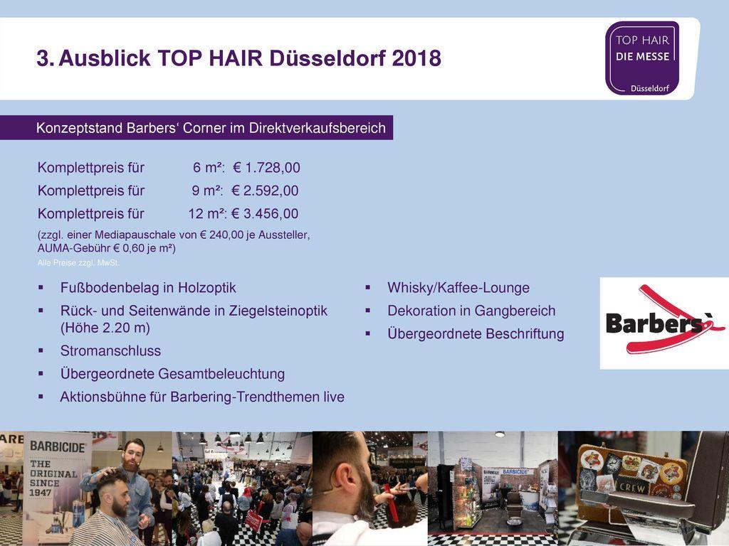 3. Ausblick TOP HAIR Düsseldorf 2018