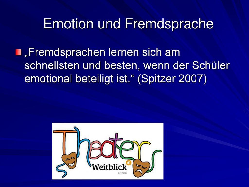 Emotion und Fremdsprache