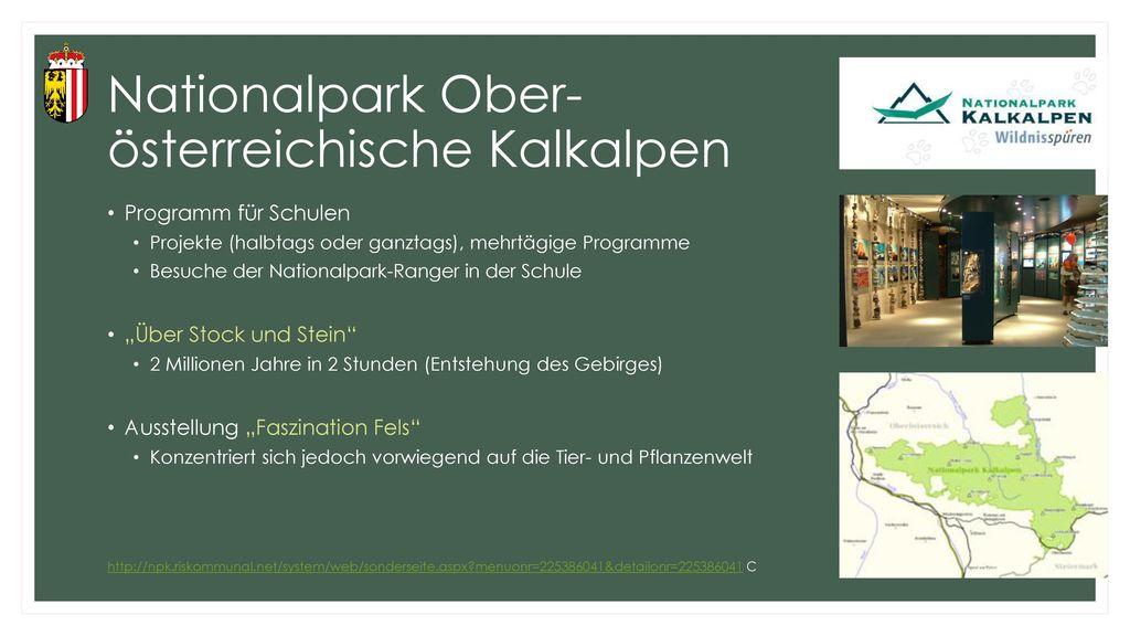 Nationalpark Ober- österreichische Kalkalpen