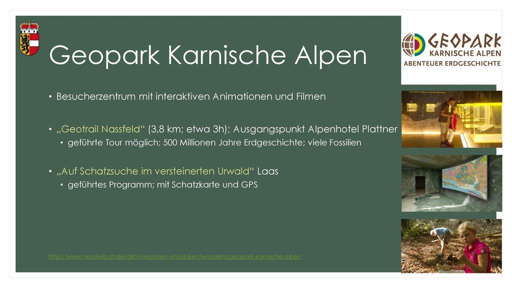 Geopark Karnische Alpen